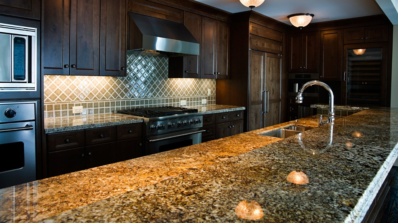 Granite Transformations Black Kitchen